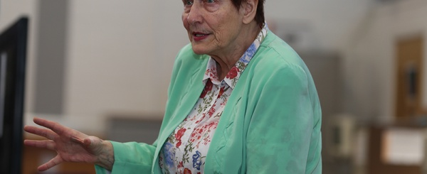 Holocaust survivor delivers important lesson from the past